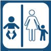 Servizi bambini e fasciatoio