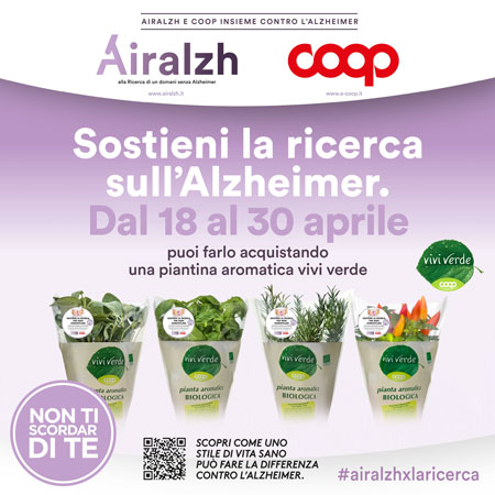 Sostieni la ricerca sull'Alzheimer.