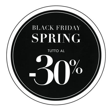 Black Friday spring edition