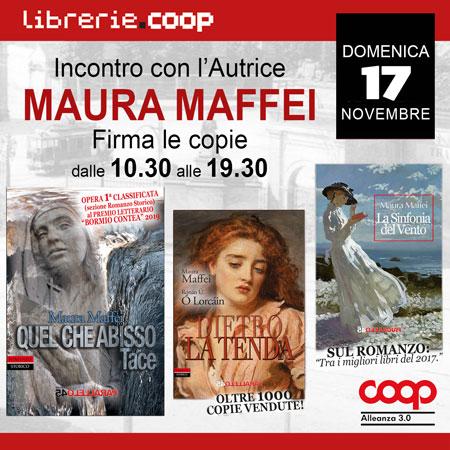 Domenica 17 novembre<br>MAURA MAFFEI