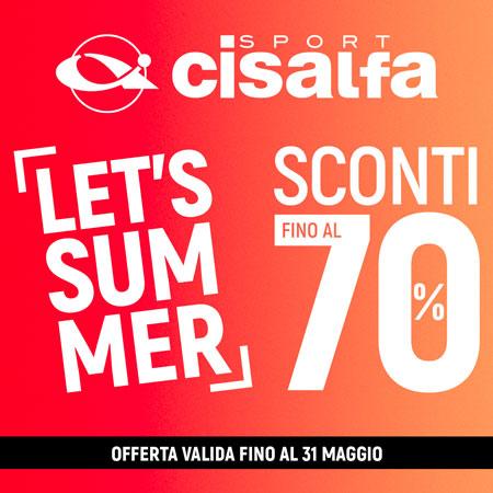 LET'S SUMMER - SCONTI FINO AL 70%